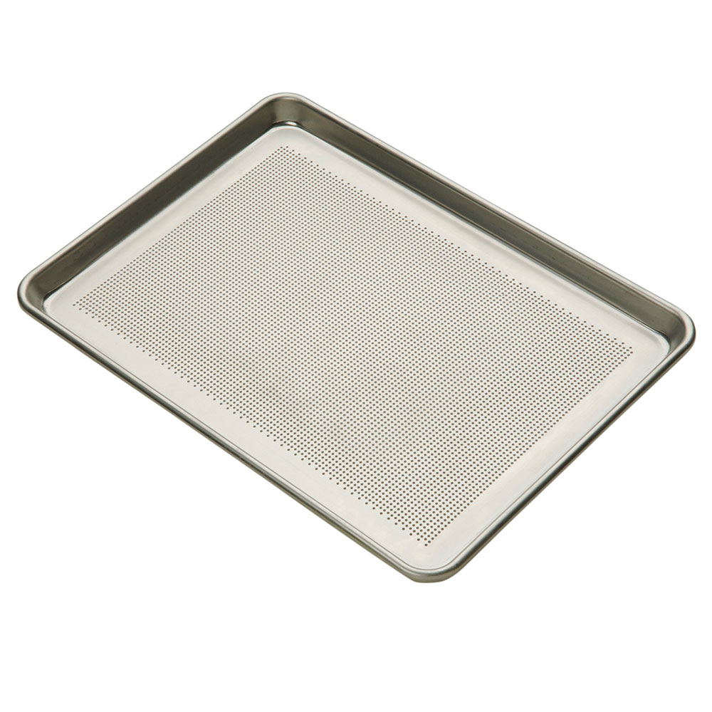 Focus 900857 Half Size Sheet Pan, 18 Gauge Aluminum, Perforated, 13 x 18 in