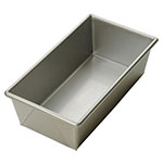 Focus 901065 3/4 lb Open Top Bread Pan, Glazed Aluminized Steel, 8 x 4 in
