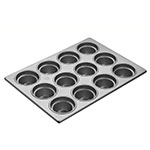 "Focus 903555 Large Crown Muffin Pan, Holds (12) 3-1/2"" Dia. Large Muffins"