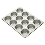 "Focus 903695 Pecan Roll Pan, Holds (12) 3-11/16""dia Rolls"