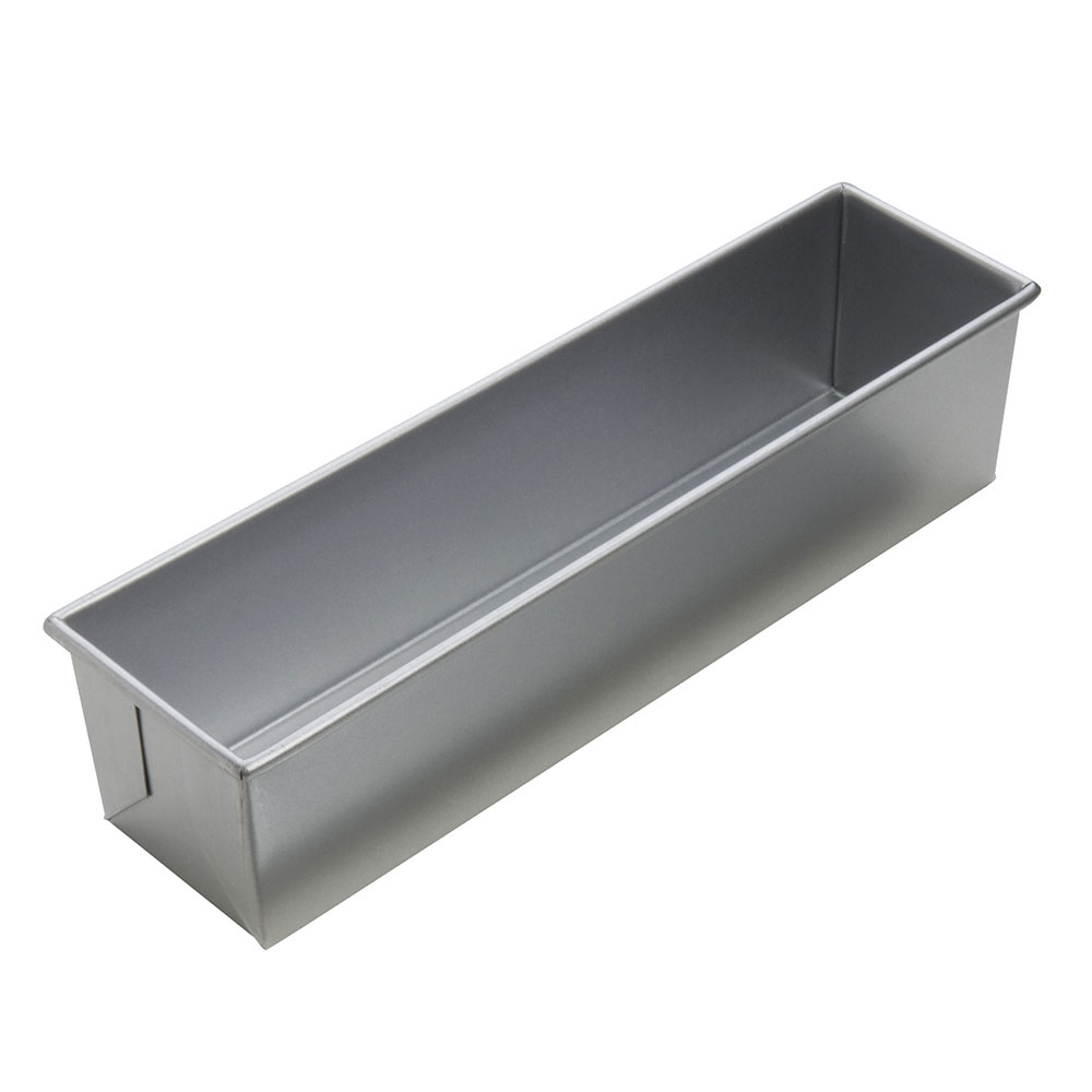 Focus 904615 1-1/2 lb Pullman Pan, Single, Glazed Aluminum, 13 x 4 in