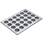 Focus 905245 Mini-Muffin Pan, Holds (24) 2-1/16 in dia. Mini Muffins