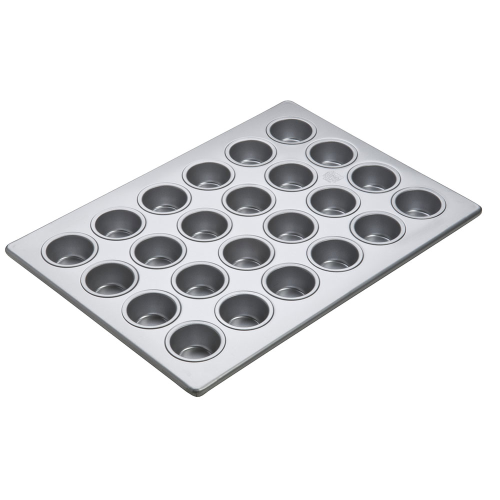 "Focus 905245 Mini-Muffin Pan, Holds (24) 2-1/16"" Dia. Mini Muffins"