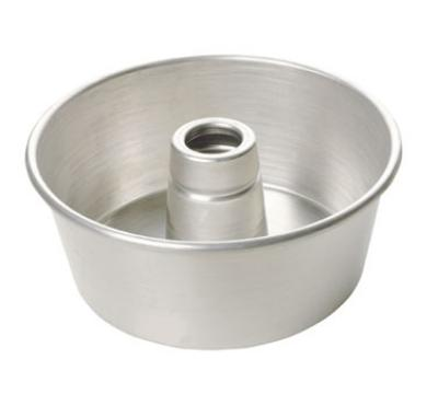 Focus 906540 Angel Food / Tube Cake Pan, 9-1/4 diam x 4-in Deep, Aluminum