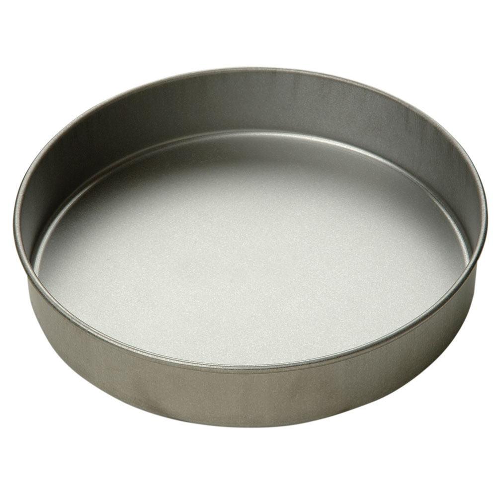 Focus 909025 Cake Pan, Round, 9 in dia. x 2 in deep, Glazed Aluminized Steel