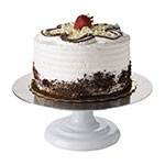 Focus 90RCS12 Revolving Cake Stand, Enamel Coated Cast Iron Base w/ Silicone Non-Slip Pad