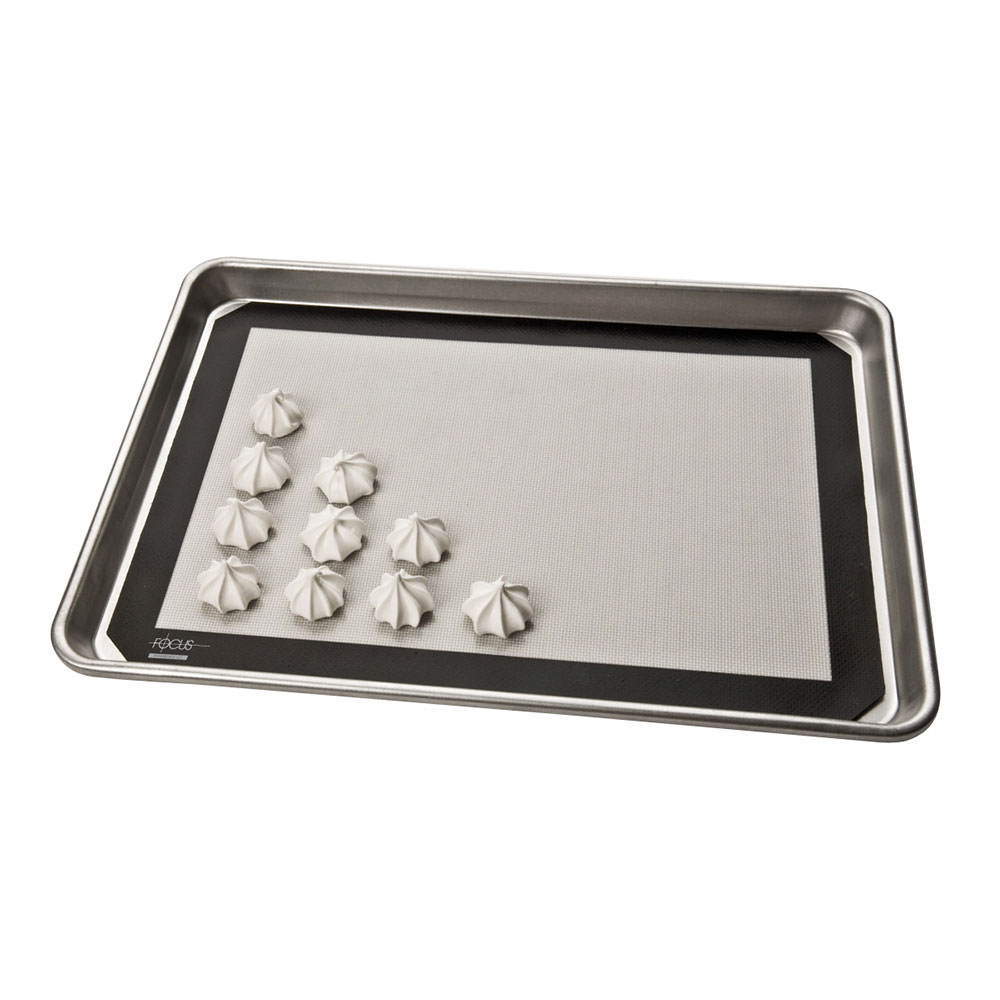 "Focus 90SBM1624 Baking Mat, Full Size, 16-1/2"" X 24-1/2 in, Silicone Over Fiberglass"