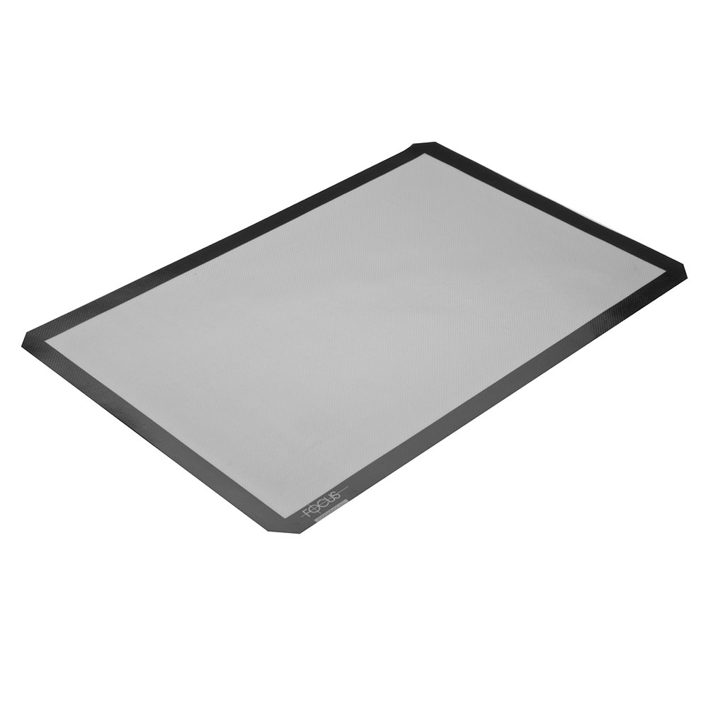 Focus 90SBM1624 Baking Mat, Full Size, 16-1/2 in x 24-1/2 in, Silicone Over Fiberglass