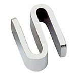 Focus 93333 S-Hook/Shelf Connectors, Chrome Plated