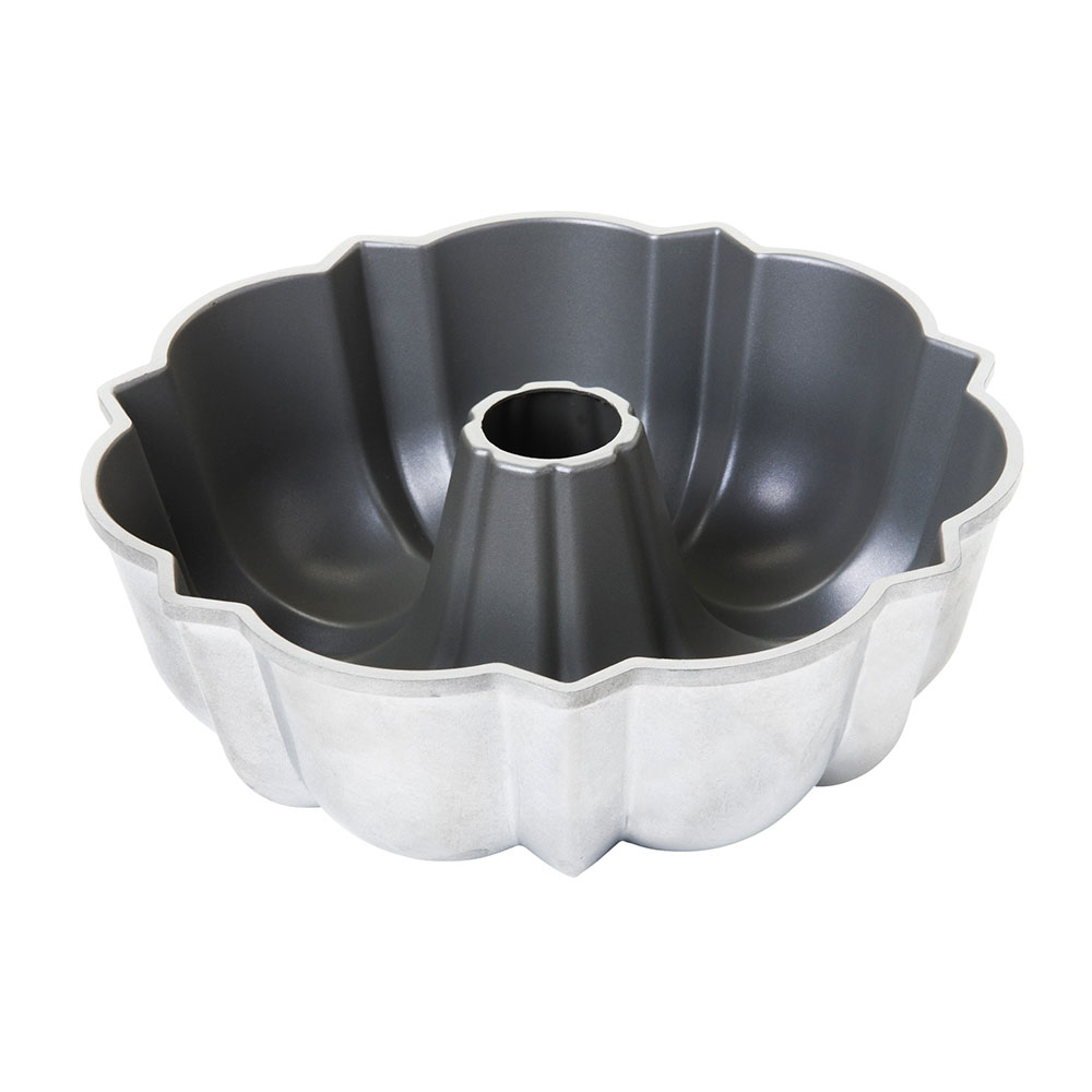 "Focus 951202 6 Cup Fluted Cake Pan, 7-7/8""Dia. (Top), 8-3/16""Dia. (Bottom)"
