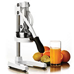 Focus 97332 Jupiter Juice Press, Large, Manual, White, 27 - 1/2 in H