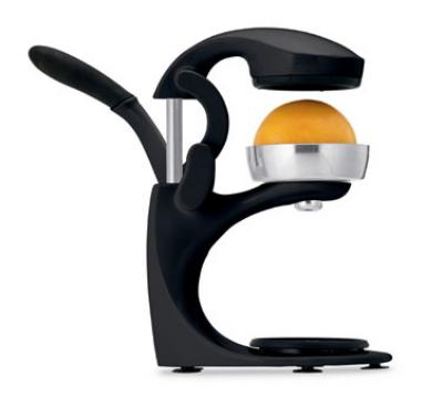 Focus 97346 Athena Juice Press, Manual, Black, With Small Fruit Juicer