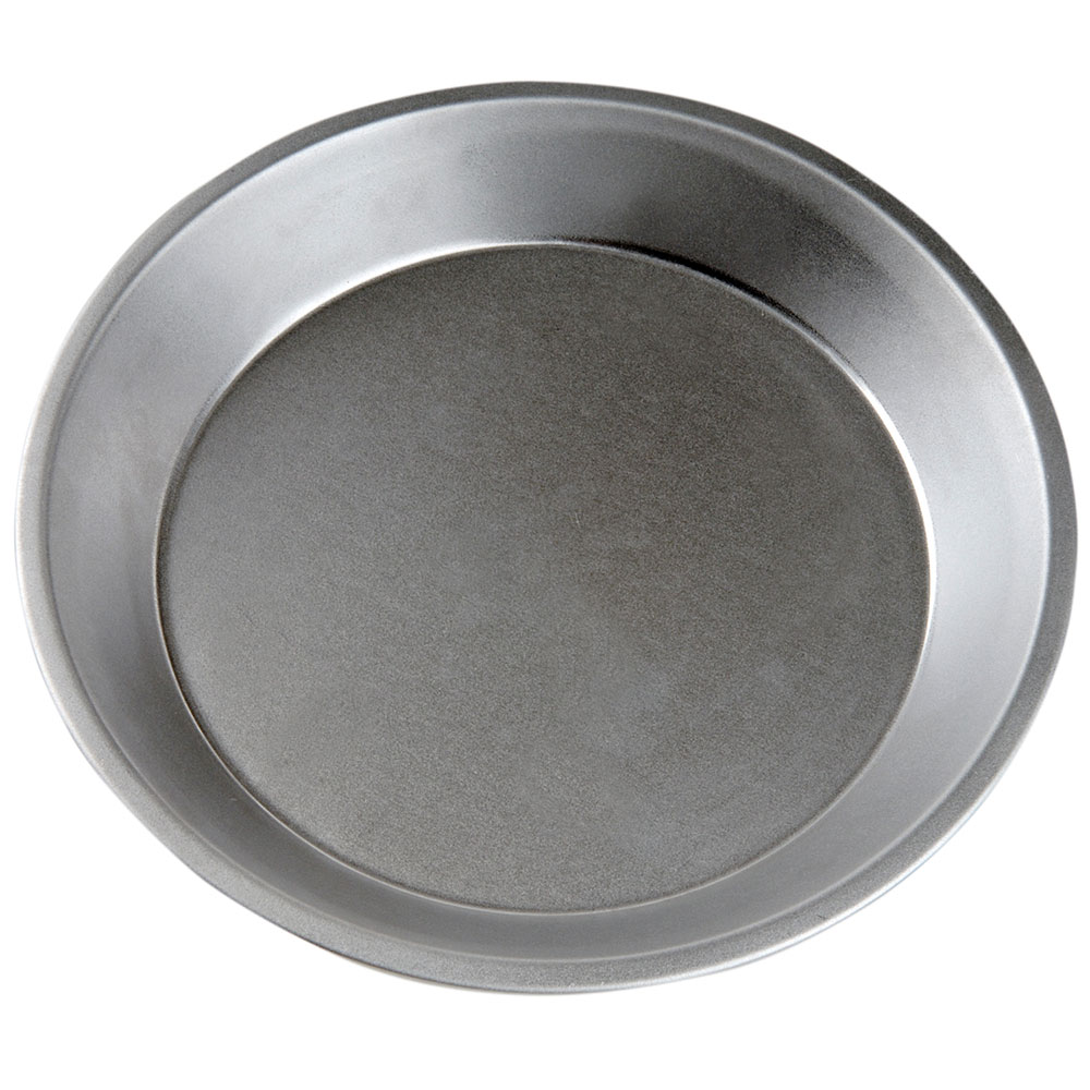 "Focus 977110 10"" Dia. Round Pie Pan, Aluminized Steel With Natural Finish"