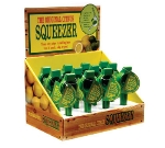 Focus 8651 12 Light Green Lime Squeezers With Display Box, Enameled Aluminum