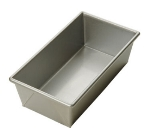 Focus 900495 1.5lb Open Top Bread Pan, Glazed Aluminized Steel, 12.25 x 4.5-in