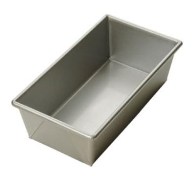 """Focus 900495 1.5lb Open Top Bread Pan, Glazed Aluminized Steel, 12.25 x 4.5"""""""