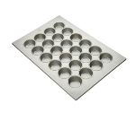 Focus 905645 Large Muffin Pan, Holds (24) 3-1/4-in Muffins, Aluminized Steel