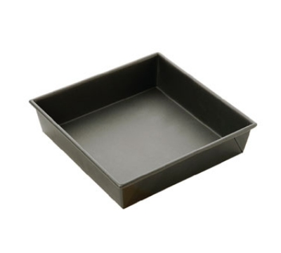Focus 969953 Non-Stick Square Cake Pan, Aluminized Steel, 9 x 9 in