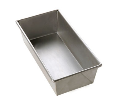Focus 977091 1-1/2-lb Bread Pan, 10 X 5 X 3-in, Aluminized Steel