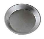 """Focus 977110 10"""" Dia. Round Pie Pan, Aluminized Steel With Natural Finish"""