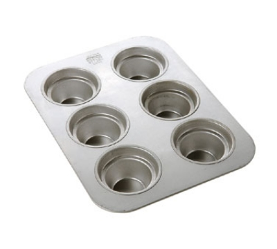 Focus 977350 Crown Muffin Pan Aluminized Steel With Natural Finish Restaurant Supply