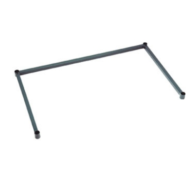 Focus FFSF2160GN 3 Sided Green Epoxy Frame, Tubular, 21 x 60 in