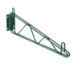 Focus FWB12SGN Direct Mount Wall Bracket, 12-in Single , Green Epoxy