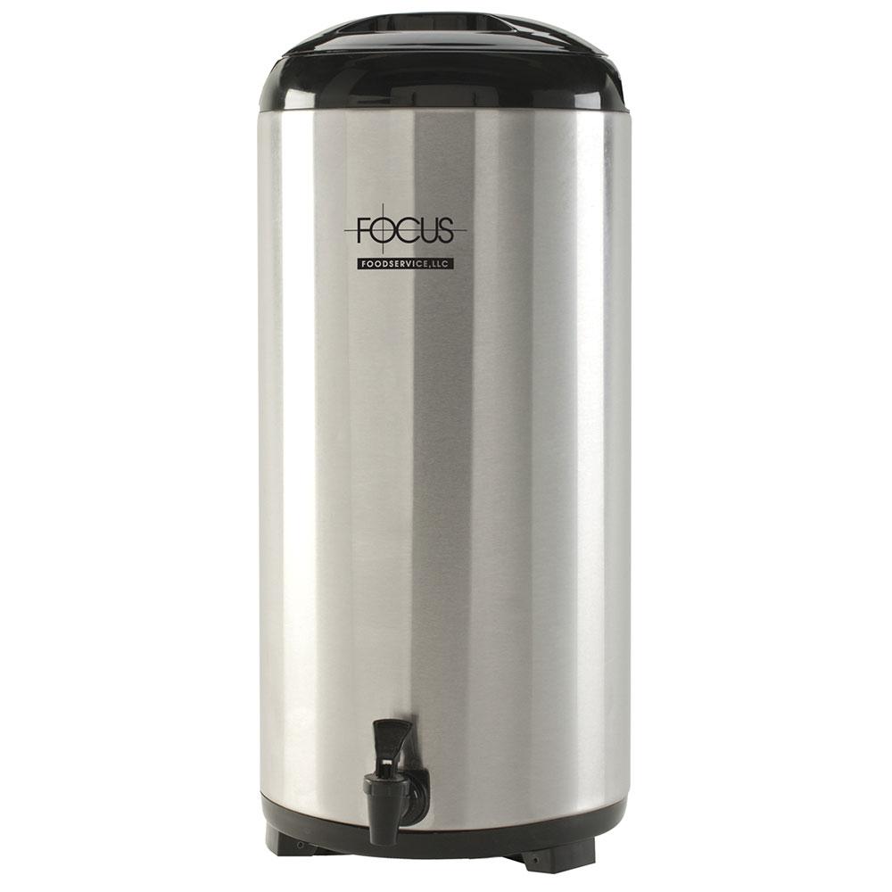 Focus BD14SS 14-liter Insulated Beverage Dispenser, Stainless