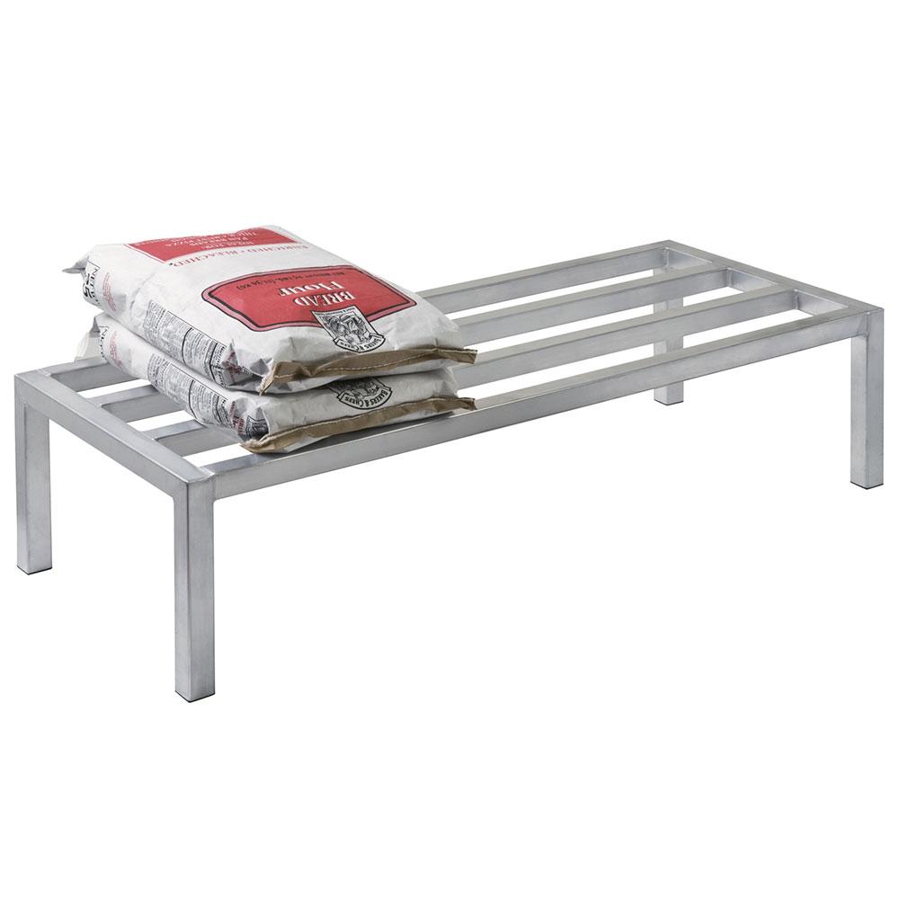 "Focus FADR362012 36"" Stationary Dunnage Rack w/ 2000-lb Capacity, Aluminum"