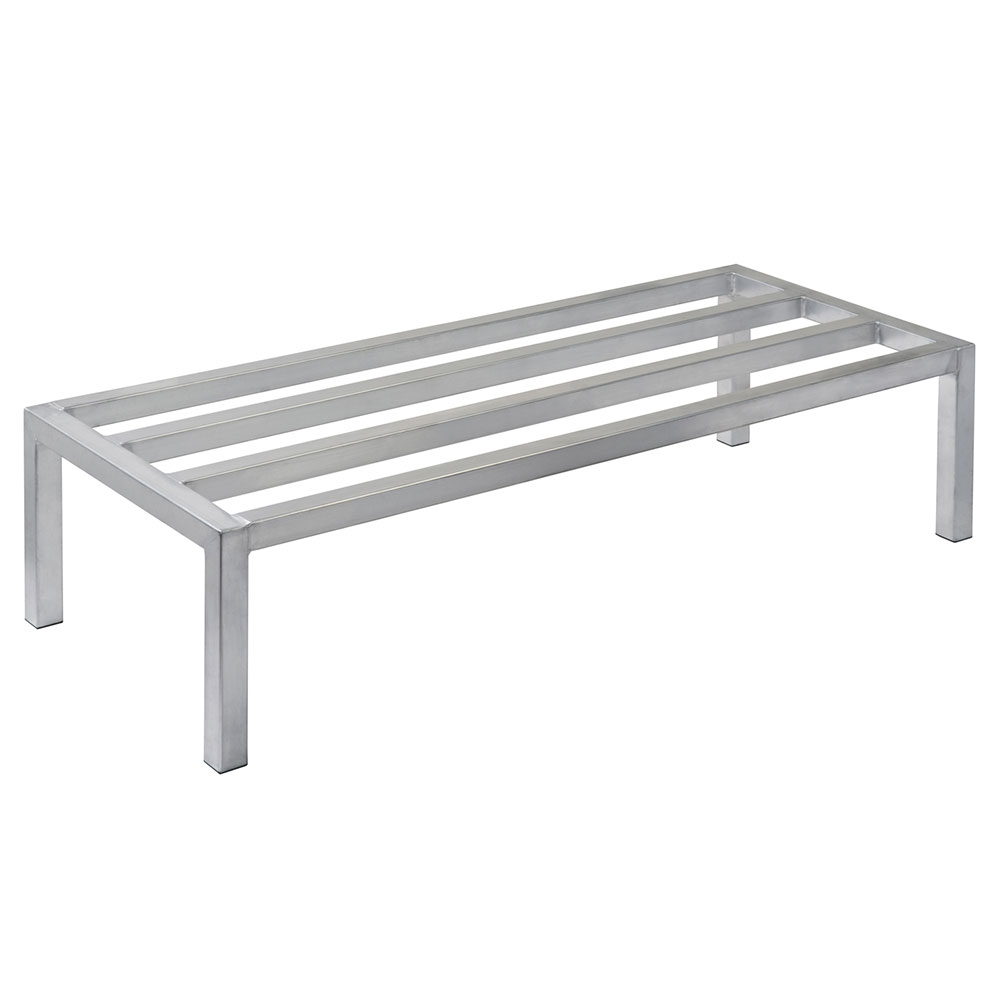 "Focus FADR602412 60"" Welded Aluminum Dunnage Rack, 24"" Deep, 12"" H"