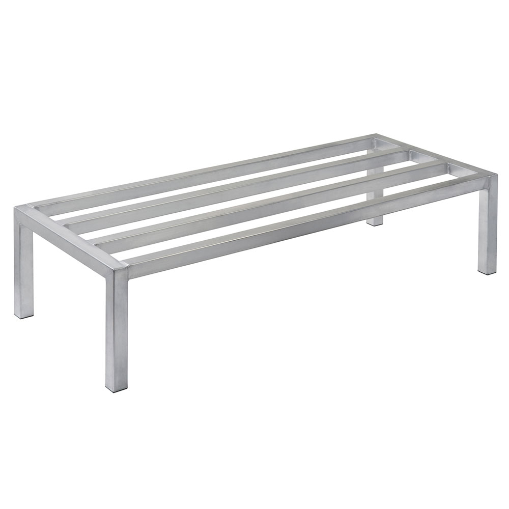 "Focus FADR362412 36"" Welded Aluminum Dunnage Rack, 24"" Deep, 12"" H"