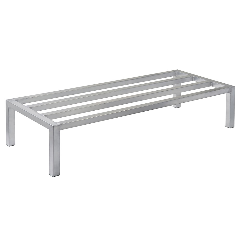 "Focus FADR482012 48"" Welded Aluminum Dunnage Rack, 20"" Deep, 12"" H"
