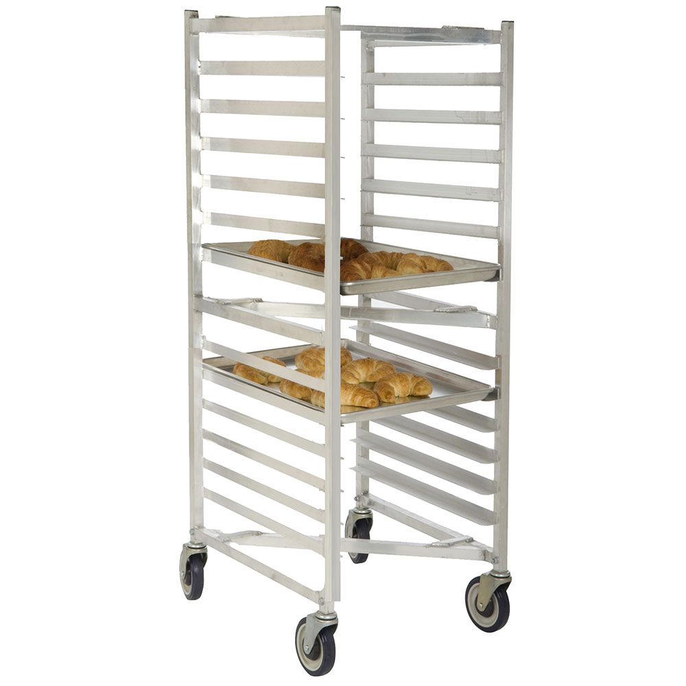 Focus FAZNBR12 End Load Bakery Rack, End Load, Holds 12-Pans