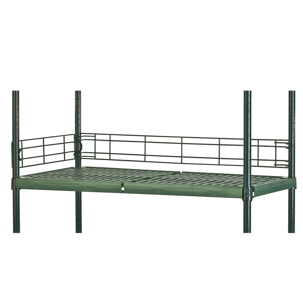 Focus FBL604FPS Shelving Ledge, Green Epoxy, 60 x 4-in