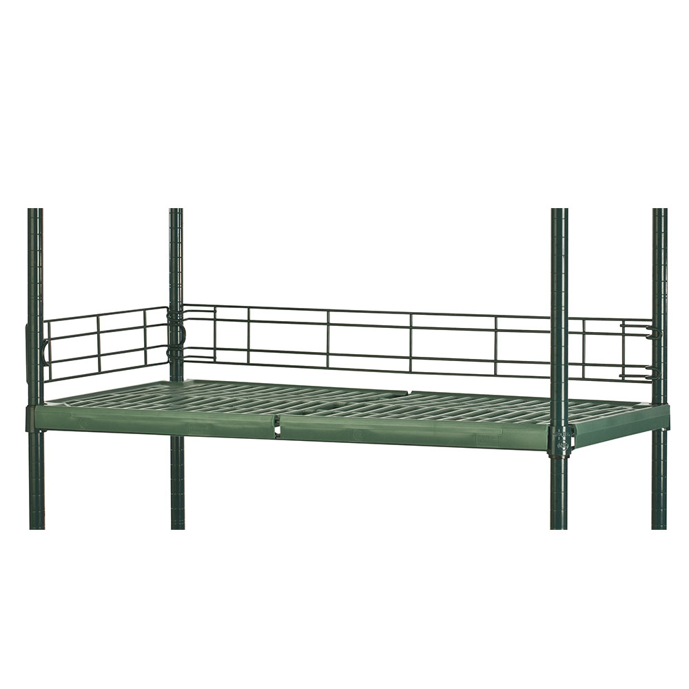 Focus FBL364FPS Shelving Ledge, Green Epoxy, 36 x 4""