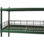 Focus FBL604FPS Shelving Ledge, Green Epoxy, 60 x 4""