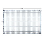 Focus FF1424C Chrome Wire Shelf - 14x24""