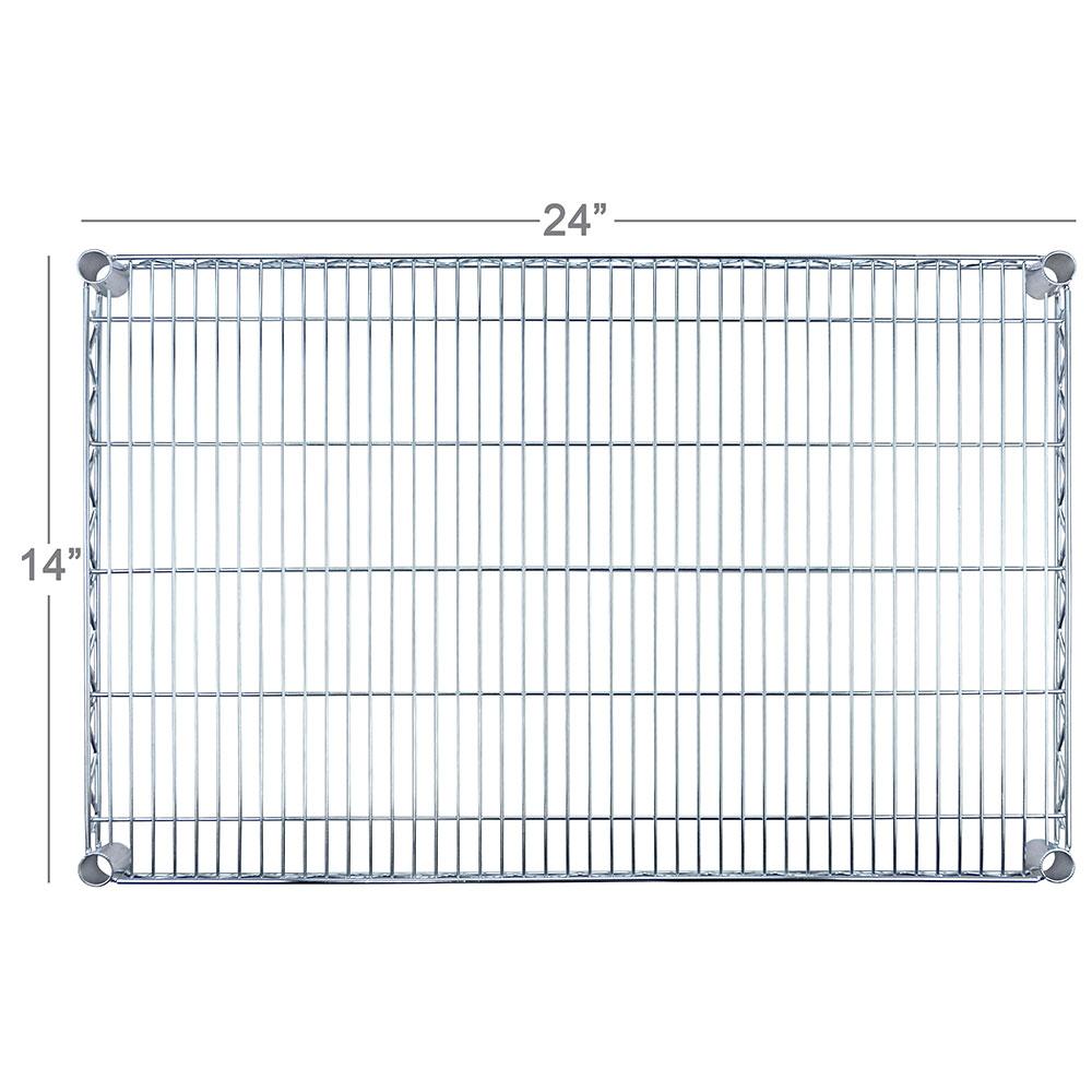 """Focus FF1424C Chrome Wire Shelf - 14x24"""""""