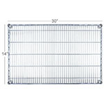 "Focus FF1430C Epoxy Coated Wire Shelf - 14x30"""