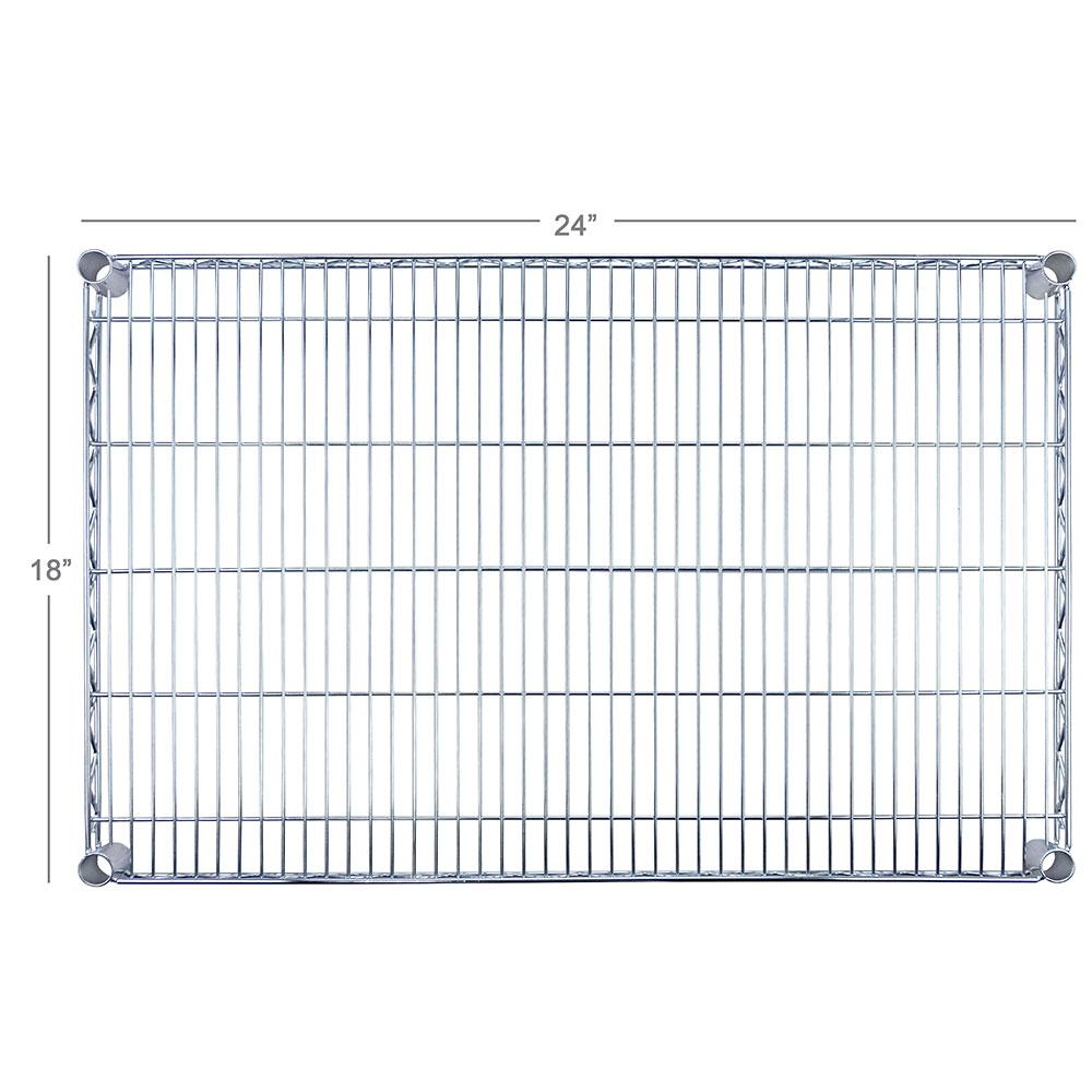 """Focus FF1824C Chrome Wire Shelf - 18x24"""""""