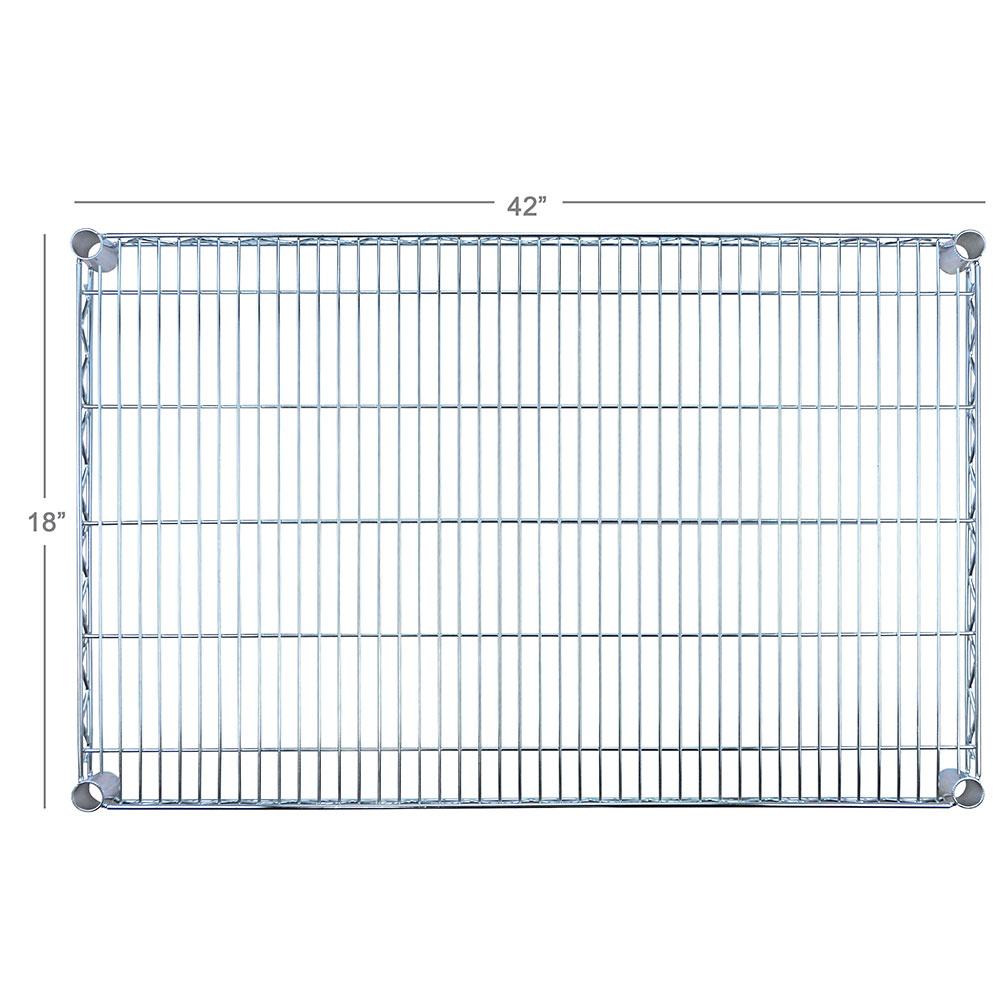 """Focus FF1842C Chrome Wire Shelf - 18x42"""""""