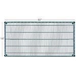 "Focus FF1860G Epoxy Coated Wire Shelf - 18x60"""