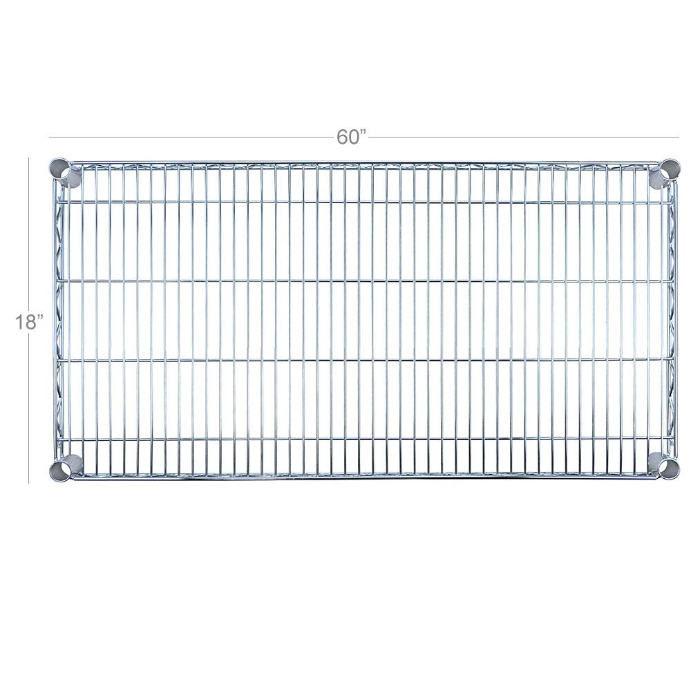 "Focus FF1860WRSS Stainless Wire Shelf - 18x60"""