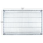 """Focus FF1872C Chrome Wire Shelf - 18x72"""""""