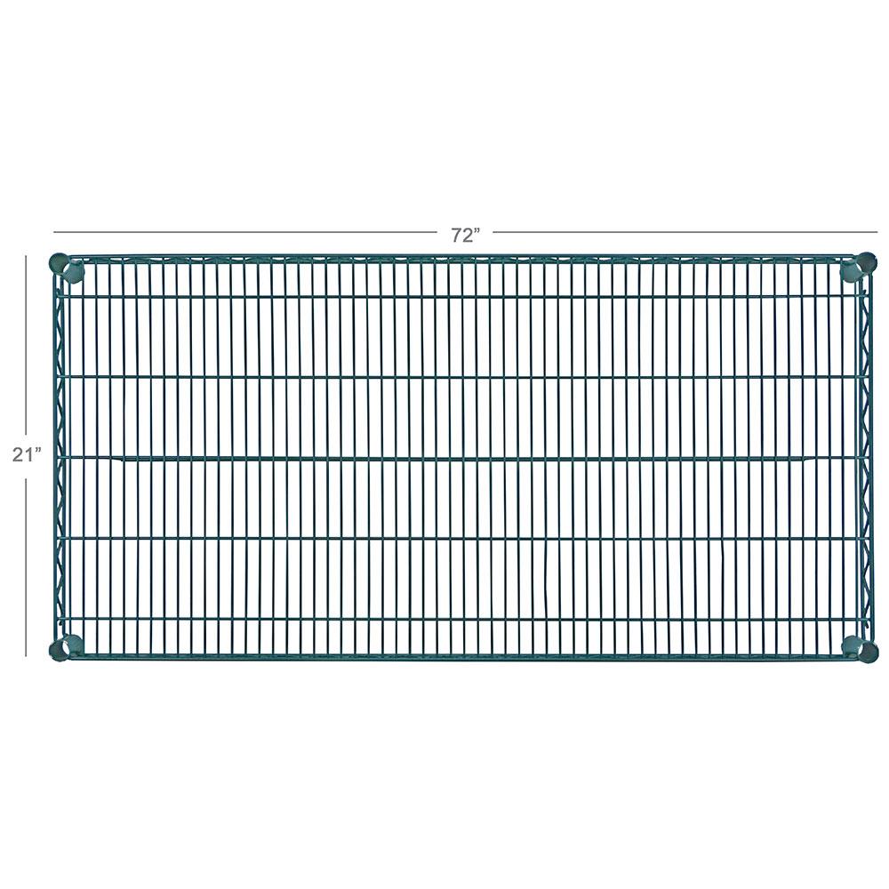 "Focus FF2172G Epoxy Coated Wire Shelf - 21x72"""