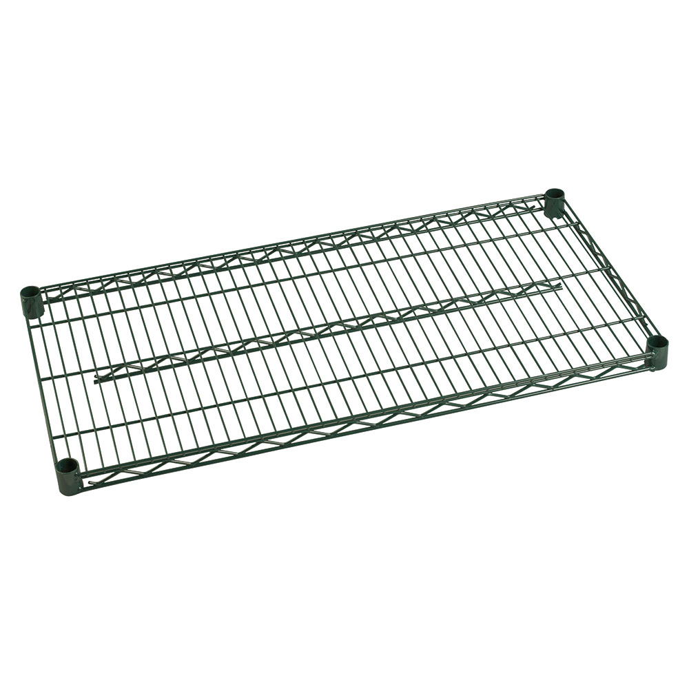 Focus Foodservice FF2424G Green Epoxy Coated Shelving 24 in D x 24 in W Restaurant Supply