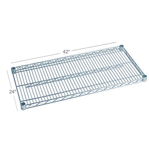 Focus FF2442WRSS Stainless Wire Shelf - 24x42""