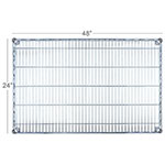 Focus FF2448C Chrome Wire Shelf - 24x48""
