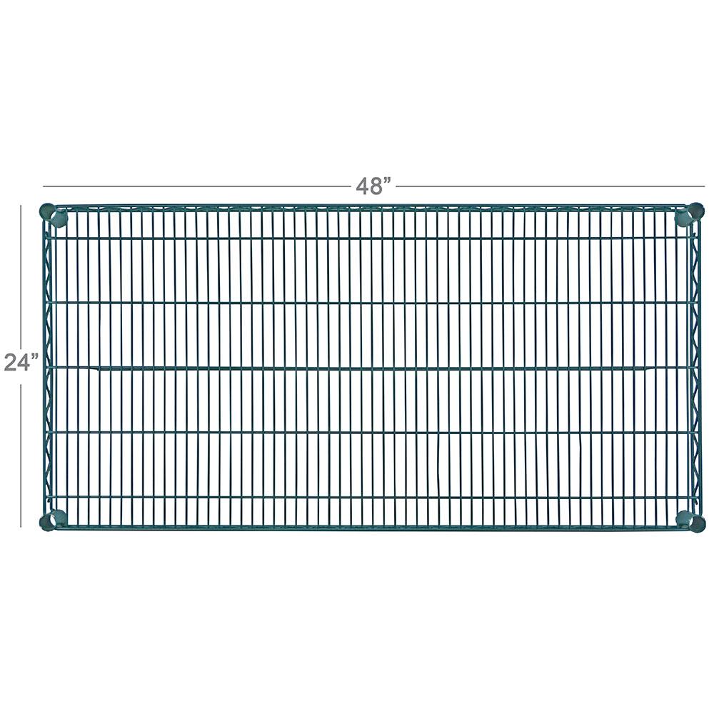 "Focus FF2448G Epoxy Coated Wire Shelf - 24x48"""