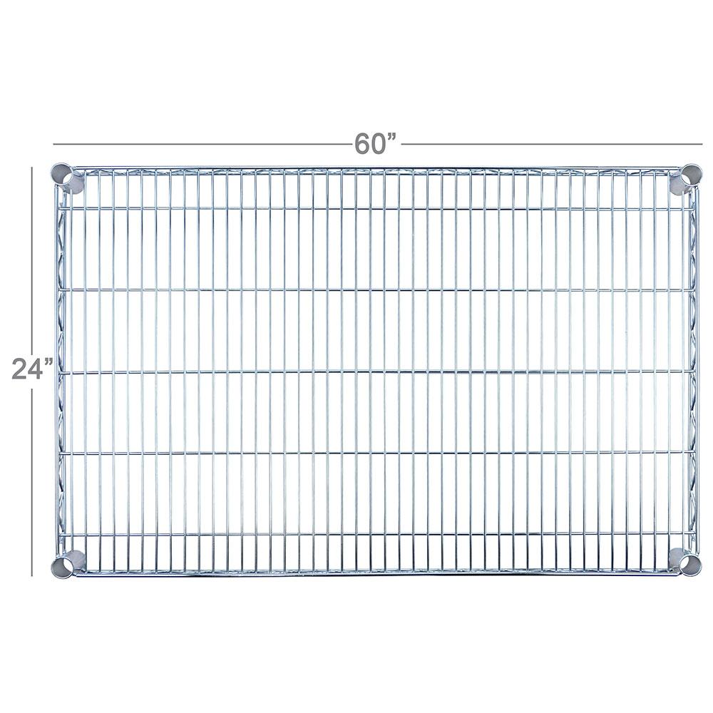 """Focus FF2460C Chrome Wire Shelf - 24x60"""""""